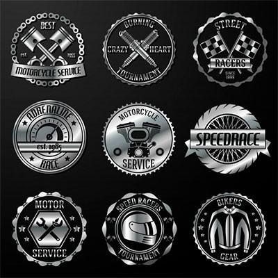 Etiqueta metalica personalizada