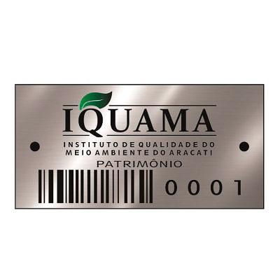 Onde comprar etiqueta de patrimonio