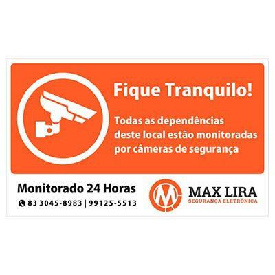Placa monitoramento 24 horas preço